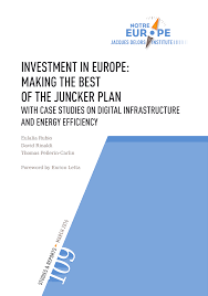 Inno Infr by Investment In Europe Making The Best Of The Juncker Plan With