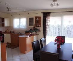 cuisine ouverte sur s駛our heavenly deco cuisine americaine salle manger ensemble cour arri