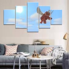 pig wall art promotion shop for promotional pig wall art on