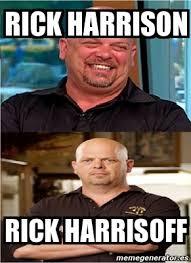 Rick Meme - meme personalizado rick harrison rick harrisoff 2961529