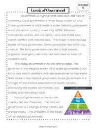 government close reading passages and questions by ashleigh tpt
