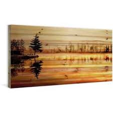 wood artwork for walls wood wall for less overstock