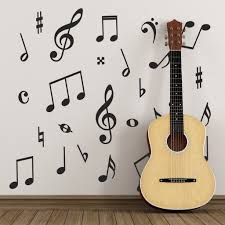 music symbol wall stickers pack of 50 music notes zygomax music symbol wall stickers pack of 50 music notes
