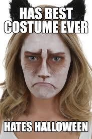 Internet Meme Costumes - grumpy cat makeup tutorial halloween costumes blog