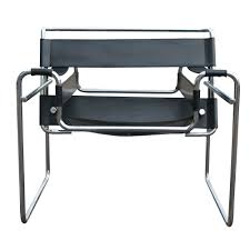 wassily poltrona metro retro furniture vintage knoll wassily marcel breuer black