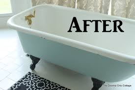 claw foot bathtubs painting a claw foot tub the country chic cottage