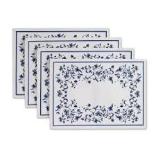 Placemats Bed Bath And Beyond Buy Blue Table Placemats From Bed Bath U0026 Beyond