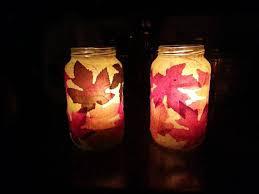 halloween luminaries mason jar candle holders