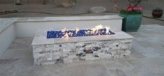 Fire Glass Fire Pit by Fire Glass New Phoenix Fire Pits Desert Crest Llc