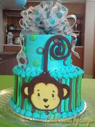 monkey baby shower cake monkey boy baby shower cakes party xyz