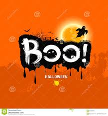 download halloween background music halloween message boo design stock image image 33969961