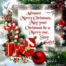 advance merry greetings quotes wishes sms