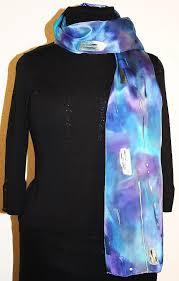 Hues Of Purple Buy Hand Painted Silk Scarves