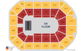 allstate arena seating chart wwe raw my blog