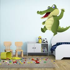 decals prnt rocks childrens room wall decal aligator