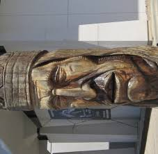 large wood sculpture myreporter what happened to the large wooden carving of a