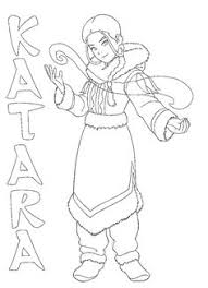 avatar coloring pages games anime avatar