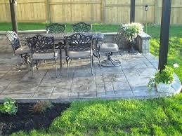 Concrete Slabs For Backyard by Poured Cement Patio U2013 Smashingplates Us
