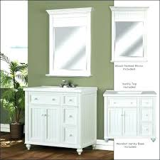 bathroom vanity with top and mirror inch double sink vanity top