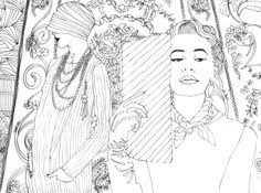 fashion design coloring pages fashion designer with the 80 models coloring book by 70eastbooks