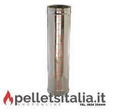 prezzi canne fumarie in acciaio per camini tubo flessibile acciaio camino 250 in vendita ebay