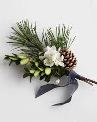 David Stark Design by 8 Elegant Winter Boutonnieres Martha Stewart Weddings