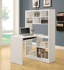 Corner Desk Ideas Innovation Ideas Corner Desk With Shelves Exquisite Decoration