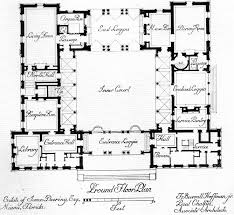 floor plans with courtyard top style house plans with central courtyard house style