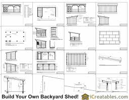 she shed plans 12x24 run in shed and tack room plans