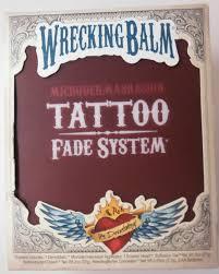 wrecking balm tattoo fade system wrecking balm tattoo fade
