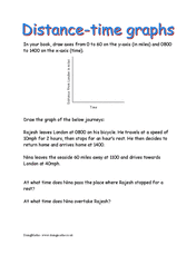 speed distance time worksheet distance time graphs worksheet by