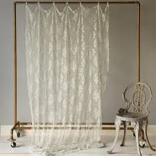 Lace Curtain Lace Curtain Panel And Nursery Kid Bedding Sets In Bedding