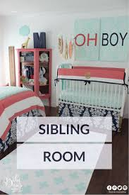 Sharing Bedroom With Baby 31 Best Sibling Shared Suite Images On Pinterest Sibling Room