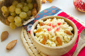 traditional tunisian sweet dish masfouf sweet couscous with