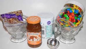 Ice Cream Gift Basket Edible Gift Basket Ideas