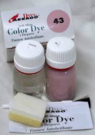 tarrago leather color dye kit with preparer canvas imitiation pale