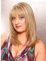 feathered haircuts for round faces long layered shag haircut with feathered layers my style