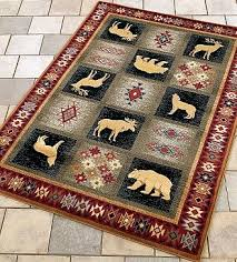 Moose Area Rugs Delectably Yours United Weavers Genesis Dakota Area Rug Collection