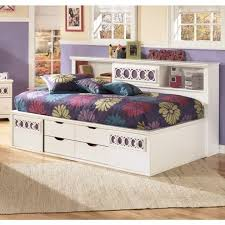 Bookcase Bed Full Living Room B131 85 Zayley Twinfull Bookcase Headboard Full Bed