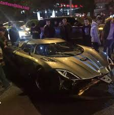 p1 crash footage emerges of chinese koenigsegg agera r crash