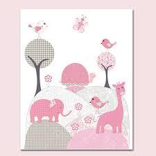 toile chambre bébé fille tableau chambre bébé fille blanches idee design illustrations lit