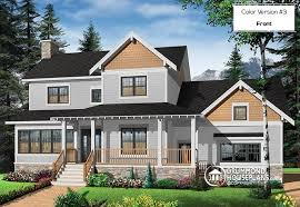 craftsman home plan house plan w2853a v1 detail from drummondhouseplans