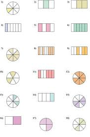 unit fractions of a group worksheets fraction worksheetsbest 25