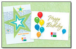 custom birthday cards custom logo birthday cards from posty cards