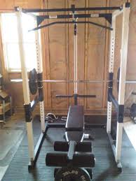 parabody power rack bench and olympic weight set cost