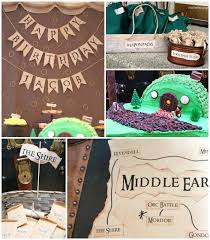 Lord Of The Rings Decor Kara U0027s Party Ideas Lord Of The Rings Themed Birthday Party