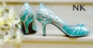 aquamarine wedding aqua shoes aquamarine shoes aqua blue wedding shoes painted