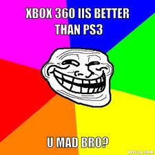 U Mad Meme Face - diylol xbox 360 iis better than ps3 u mad bro hanslodge cliparts