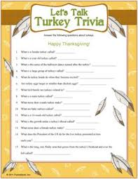 turkey trivia with a few surprising facts about turkeys