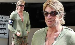 Mickey Rourke News Newslocker - mickey rourke wigs out in beverly hills as he continues vigorous